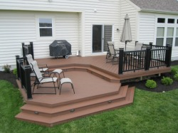 Deck by Archadeck with Small Angles