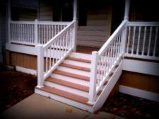 Front Porch with Solid Skirting by Archadeck, St. Louis Mo
