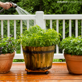 Ideas For Gardening On Your Deck by Archadeck