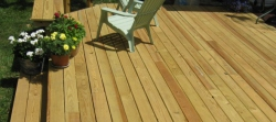 Pressure Treated Deck by Archadeck