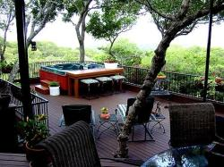 Custom Deck with Amenities by Archadeck