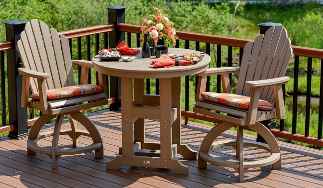 More ideas for awesome deck accents and accessories from for Outdoor furniture quality