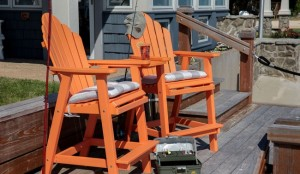 Modern Rustic Deck Furniture by Berlin Gardens