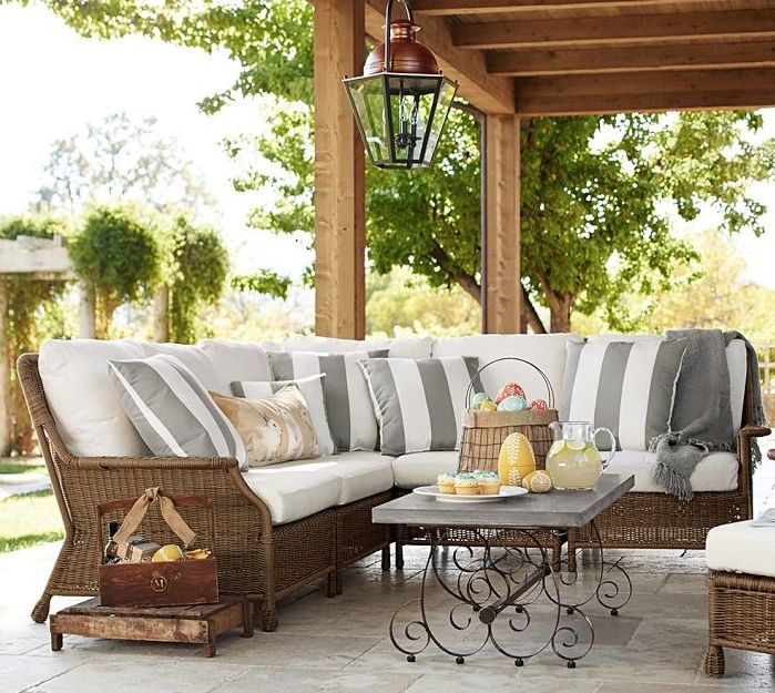 Outdoor Garden Furniture By Pottery Barn: St. Louis Decks, Screened Porches, Pergolas By Archadeck