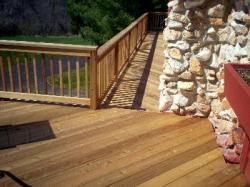 Rustic Style Deck in St. Louis by Archadeck