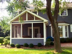 Traditional Screened Porch Design by Archadeck