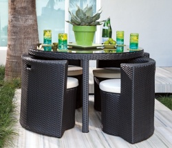 Deck Furniture for Dining by Brookstone
