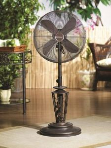 Decorative Outdoor Fan from Camelot Living
