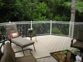 Westbury Deck Rails, photo courtesy of Archadeck