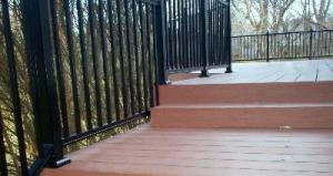 Westbury Deck Rails with AZEK Decking by Archadeck, St. Louis Mo