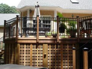 Deck with Under Deck Storage by Archadeck