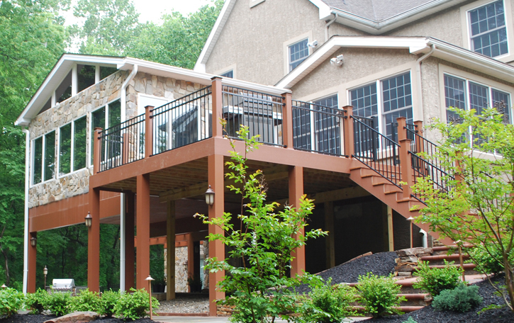 The 4 Best Ways To Use The Space Under A Deck St Louis