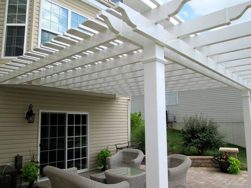 Mid Century Modern Pergola : Build Pergola Ideas Pinterest DIY mid century modern desk plans ...