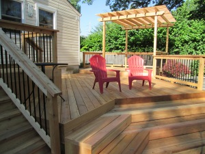 Deck Replacement and Remodel by Archadeck, St. Louis Mo