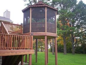 Hardwood Deck and Gazebo by Archadeck, St. Louis Mo