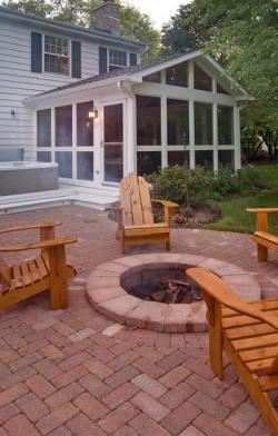 Screen Porch and Spa Deck by Archadeck