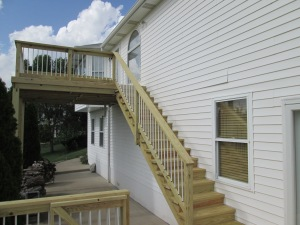 Pressure Treated Decks in Ballwin Mo by Archadeck