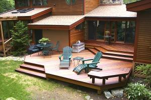 Multilevel Deck Design Without Rails, by Archadeck