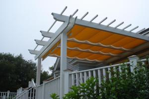 Pergola with Canopy, by Archadeck