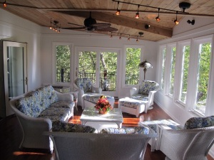 Inside View of Outdoor Room by Archadeck