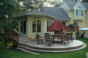 Ipe Hardwood Deck by Archadeck