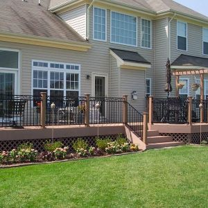 Low Maintenance Deck and Railing by Archadeck