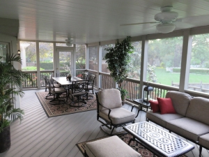 Composite Flooring for Screen Porch by Archadeck