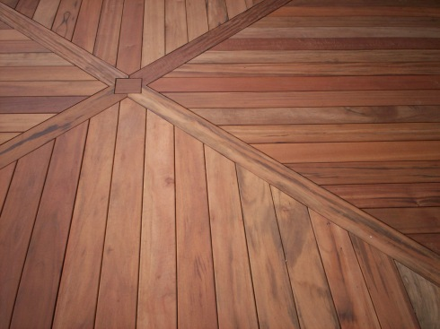 Custom Deck Floor Board Pattern by Archadeck in St. Louis Mo