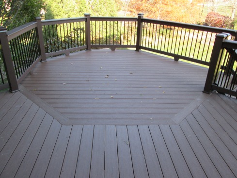 Outdoor Dining Room Created with Deck Board Pattern by Archadeck, St. Louis Mo