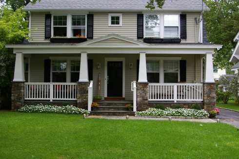Beautiful Front Porch by Archadeck