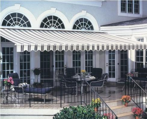 Deck with Awning, Project by Archadeck
