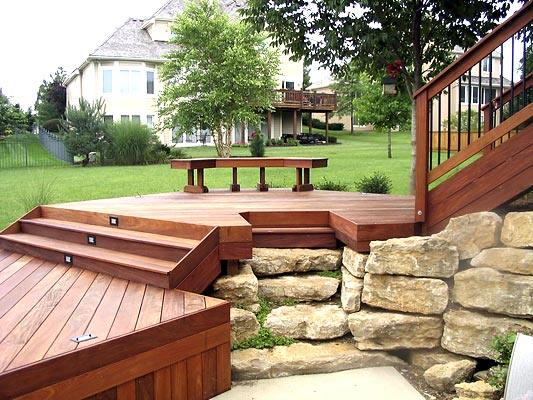 Small Decks With Big Function By Archadeck St Louis Decks Screened Porches Pergolas