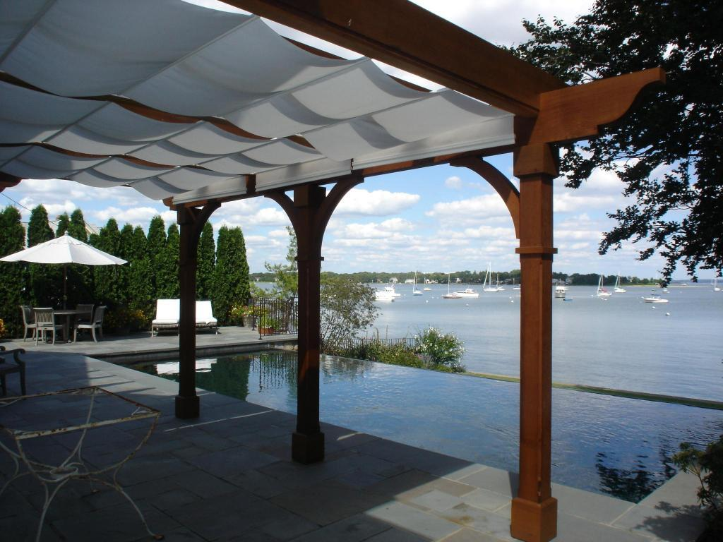 1000 images about guy kathy robert on pinterest deck for Shade arbor designs