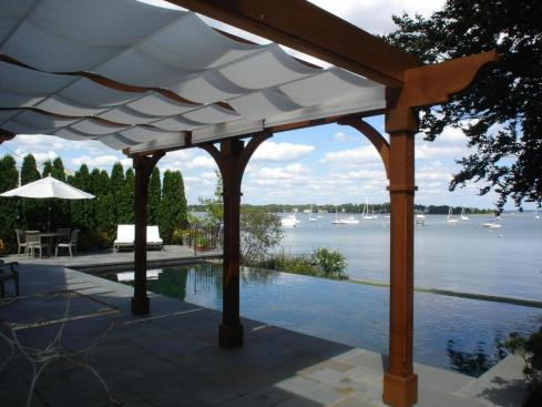 Pergola with Canopy for Added Shade, Project by Archadeck