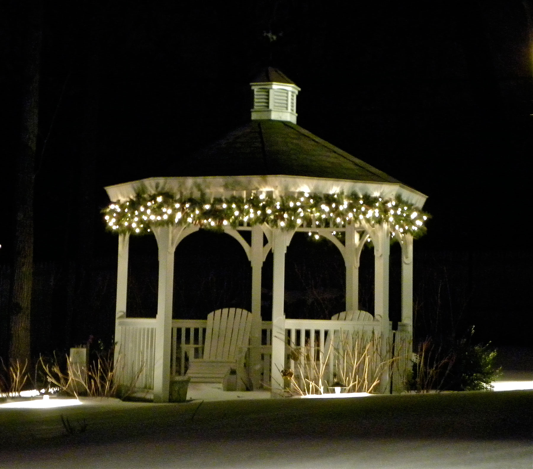 Outdoor Lighting Under Pergola: How To Add Lights To A Deck, Screened Porch Or Pergola By