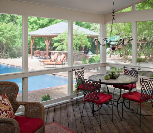 Enclosed Porch/Deck for Large Outdoor Living Space by Archadeck