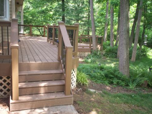 Multilevel Deck Design by Archadeck, St. Louis Mo