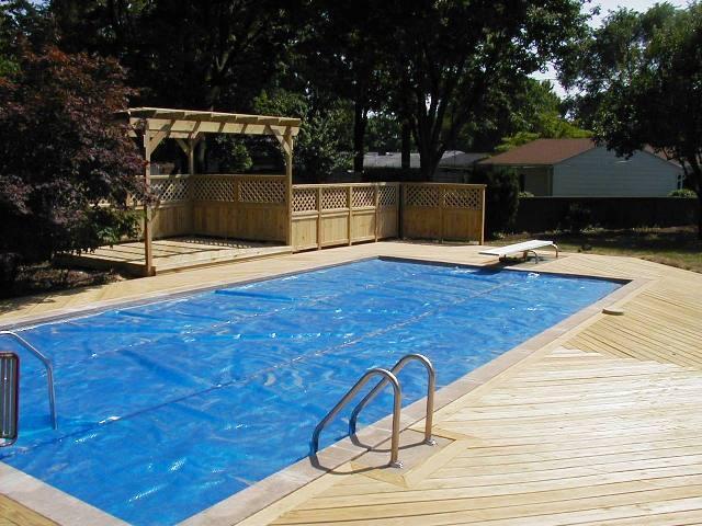 Deck Pergola And Porch Designs For Pools St Louis