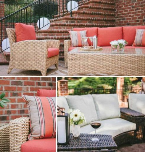 Summertime Colors for Outdoor Furniture by Casuwel