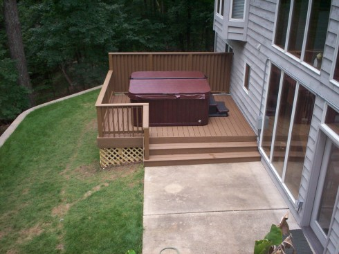 Platform Spa Deck in Greater St. Louis Mo by Archadeck