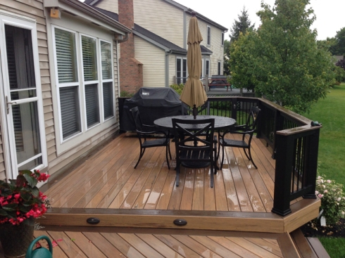 TimberTech Legacy Two-Tone Deck Design by Archadeck