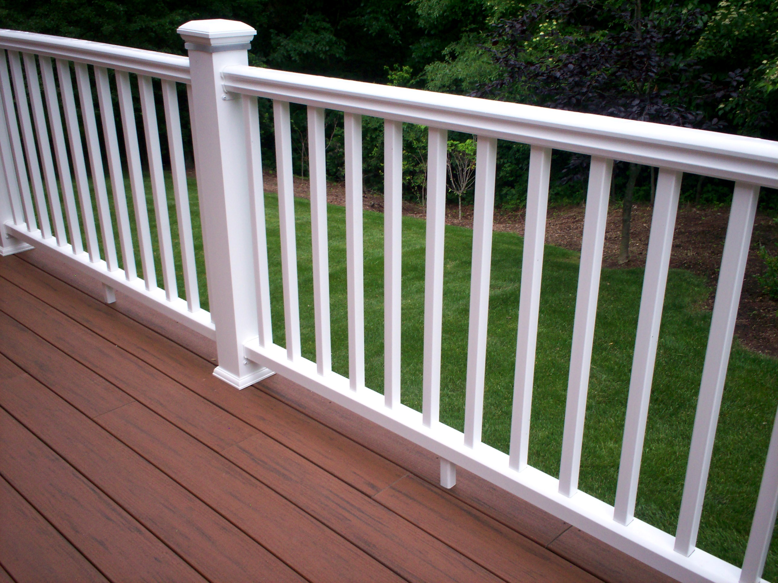 Timbertech decking why we love it and you should too st louis decks screened porches - Vinyl railing reviews ...