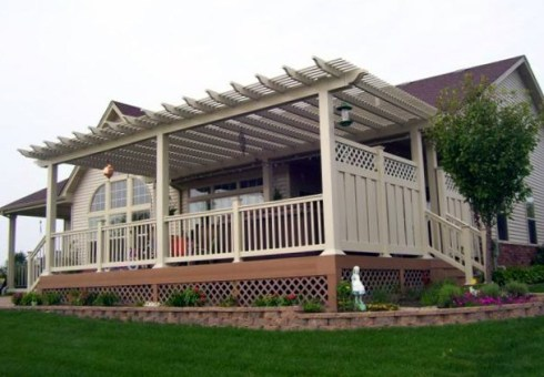 Decks with Pergolas by Archadeck