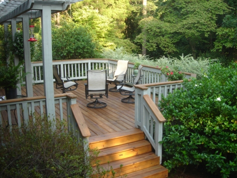Ipe Hardwood Deck by Archadeck