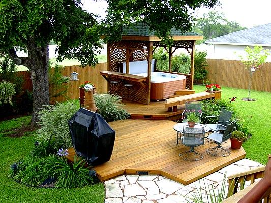 Stand Alone Deck Designs : St louis decks your backyard is a blank canvas