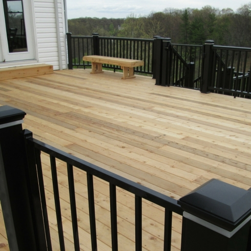 Wood Decks by Archadeck of West County in St. Louis Mo