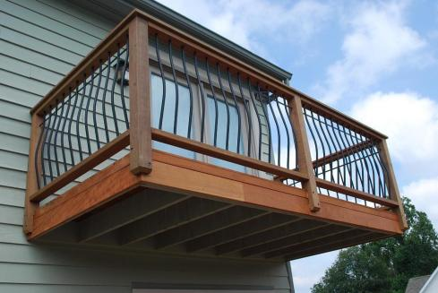 Balcony Decks Without Stairs by Archadeck