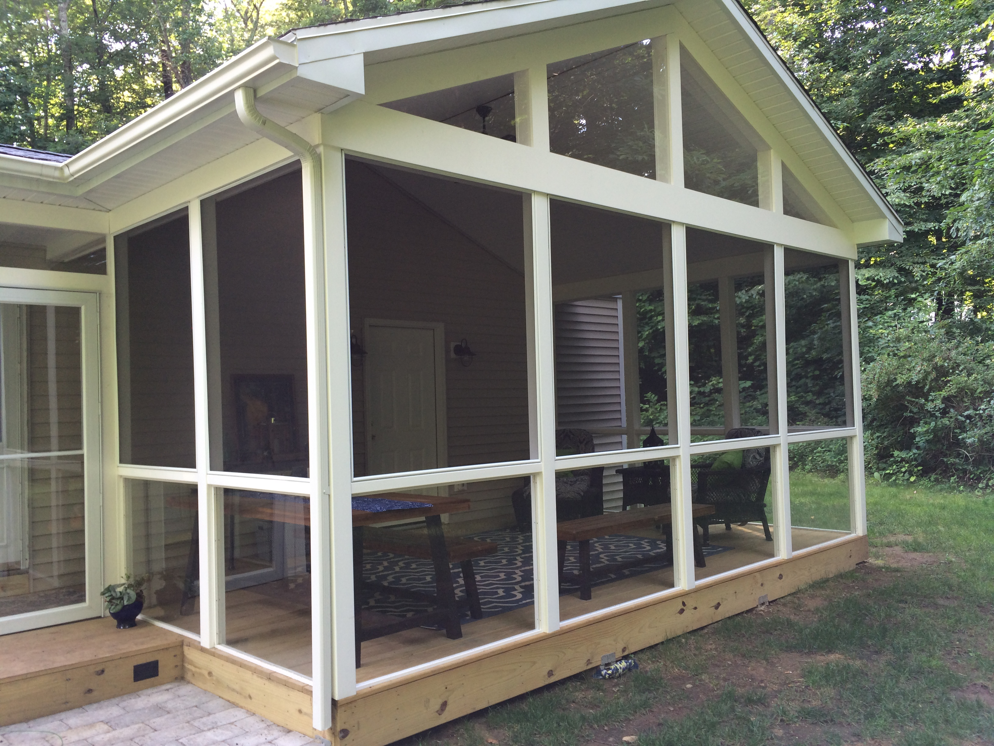 portfolio llc porches and screened porch decks photos charlotte