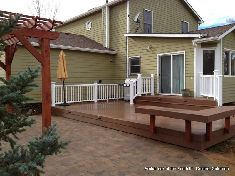 Deck stairs ideas how to choose the best stair design for for Platform deck plans