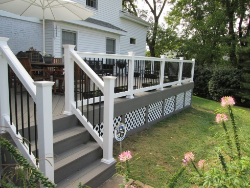 TimberTech Low Maintenance Deck Designed For Dining and Grilling, by Archadeck, St. Louis Mo